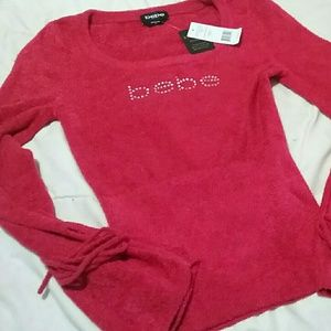 BEBE New With Tags Red Hot!